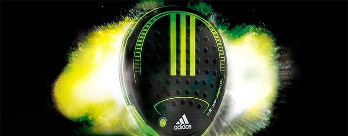 Adidas presenta su nueva pala de padel Adipower Carbon Ctrl