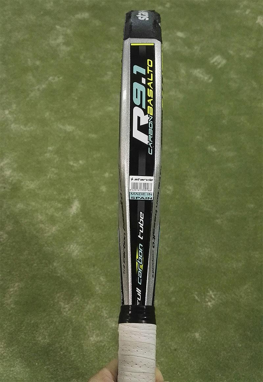 perfil de la pala Starvie 9.1 Carbon Basalto
