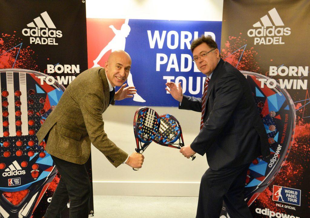 Adidas pala oficila World Padel Tour. El modelo Adidas Adipower WPT pala oficial