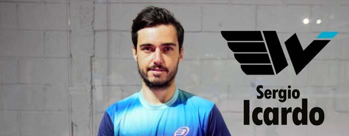 Sergio Icardo nuevo jugador de Wingpadel