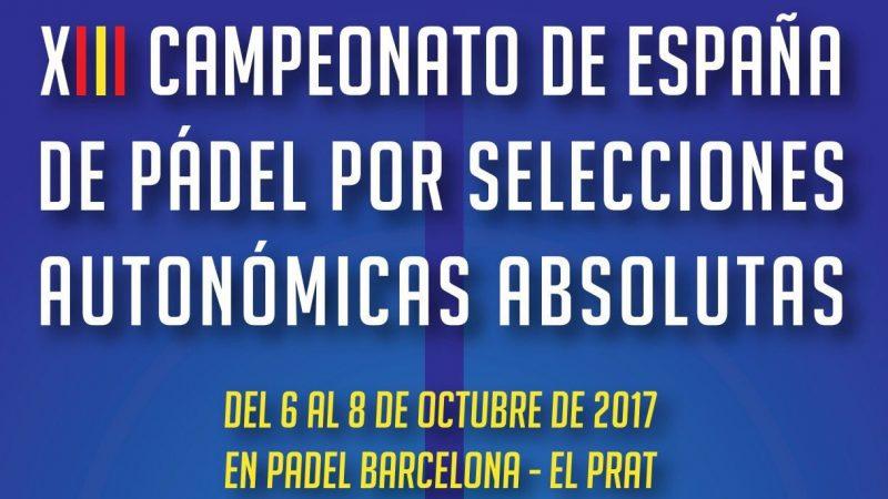 13 Campeonato de España de pádel absoluto por selecciones autonómicas