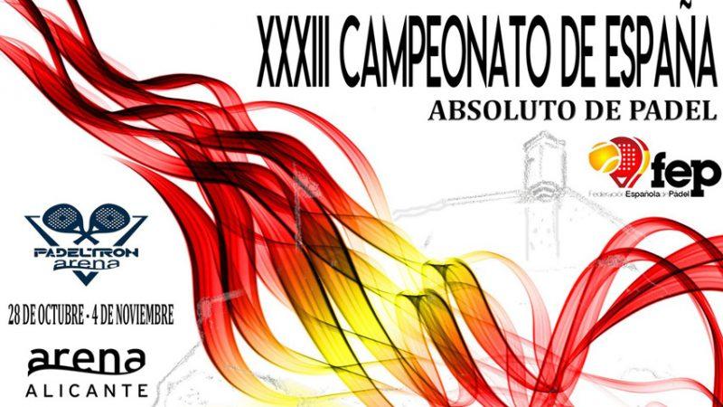 33 campeonata de España Absoluto de Pádel por parejas