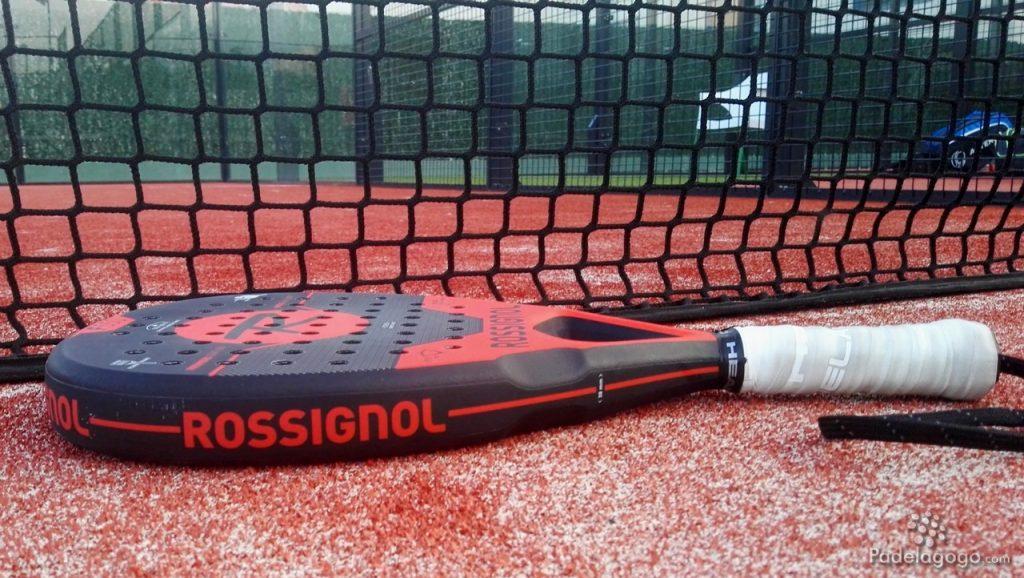 Detalle pala de padel Rossignol F550