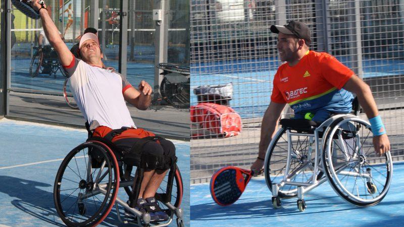 Sergio Agea y Edorta de Anta ganan la cuarta prueba del campeonat de España de padel en silla de ruedas