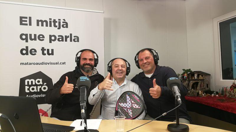 Malalts de Padel. Con Alex Coma y Xavi Martinez