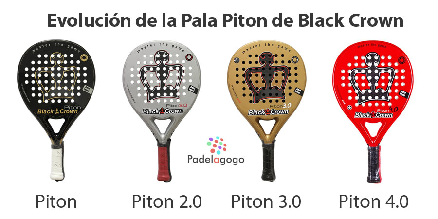 Gama Piton de Black Crown. 1.0 / 2.0 / 3.0 / 4.0