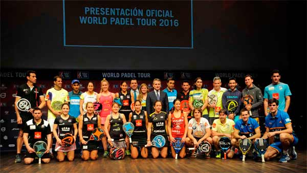 Top ten Masculino y Top Ten femenino World Padel Tour 2016