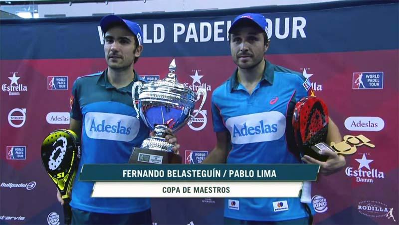 Bela-Lima ganadores de la final World Padel Tour Gijón Open 2016