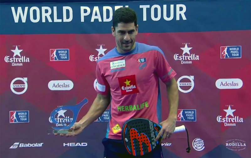 Maxi Sanchez gana el trofeo al mejor juegador de la final del WPT Open de Gijón