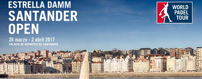 Estrella Damm Santander Open . World Padel Tour 2017. Calendario