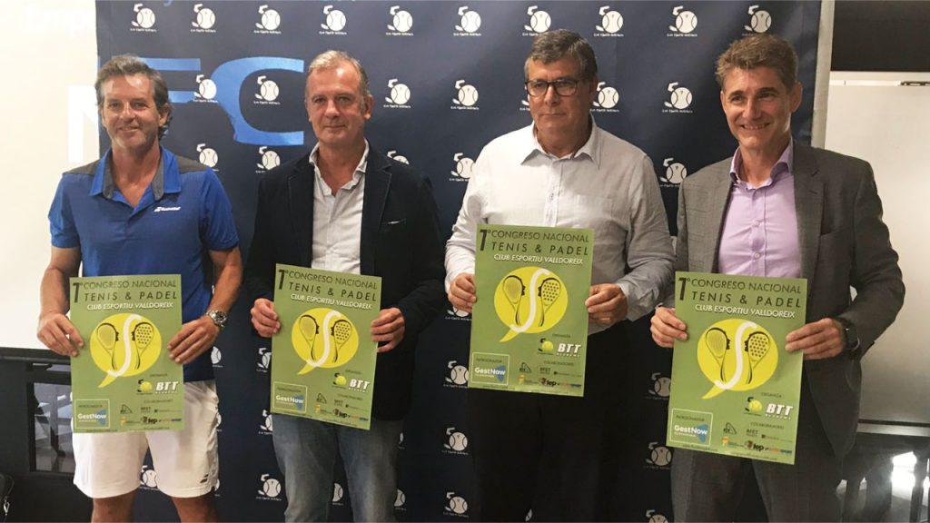 Presentación primer Congreso Nacional de tenis apdel