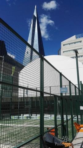 Vista del ediciio central de Caldea