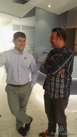 Rpert Fornell con Carles Prat de Padel 2.0