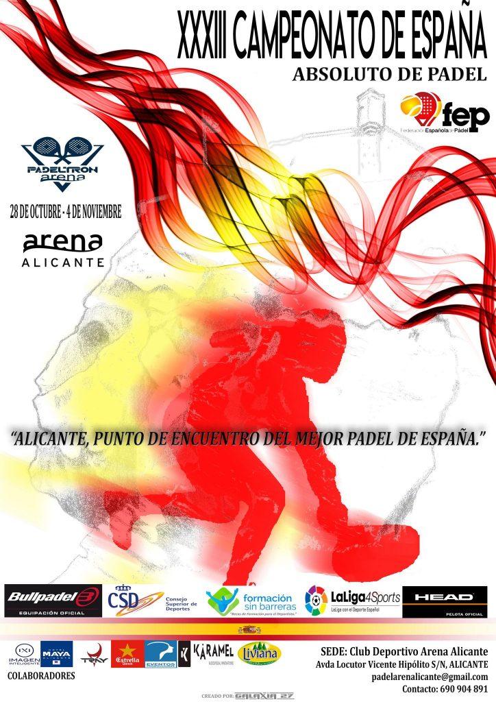 33 campeonato de España absoluto de pádel