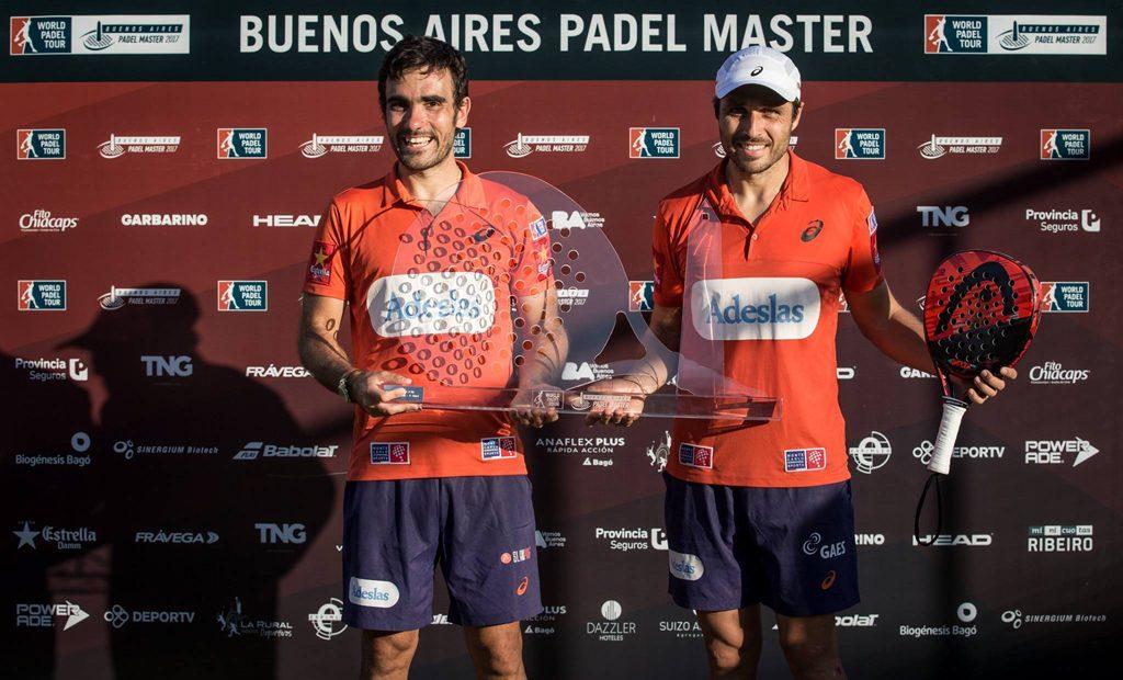 Bela y Lima campeones del Wolrd Padel Tour Buenos Aires Open