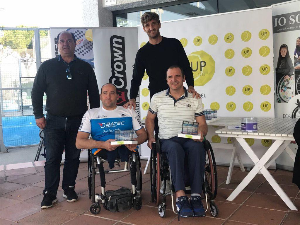 Oscar Agea y Edorta de Anta campeones de la cuarta prueba del Campeonato de España de Pádel en silla de ruedas