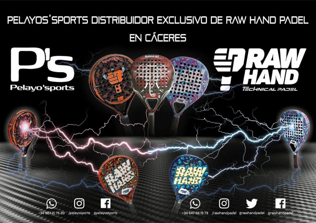 Cuerdo comercial entre Rah Hand Padel y Pelayo Sports
