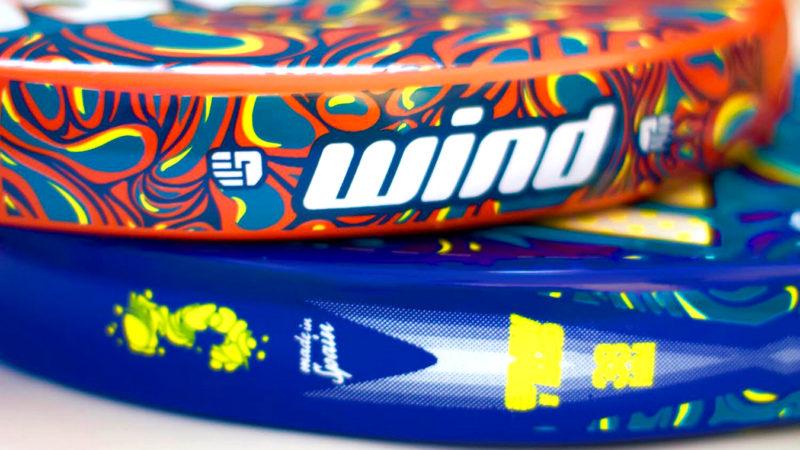 Nuevos modelos RawHand Padel Wind 3.0 Orange y Blue