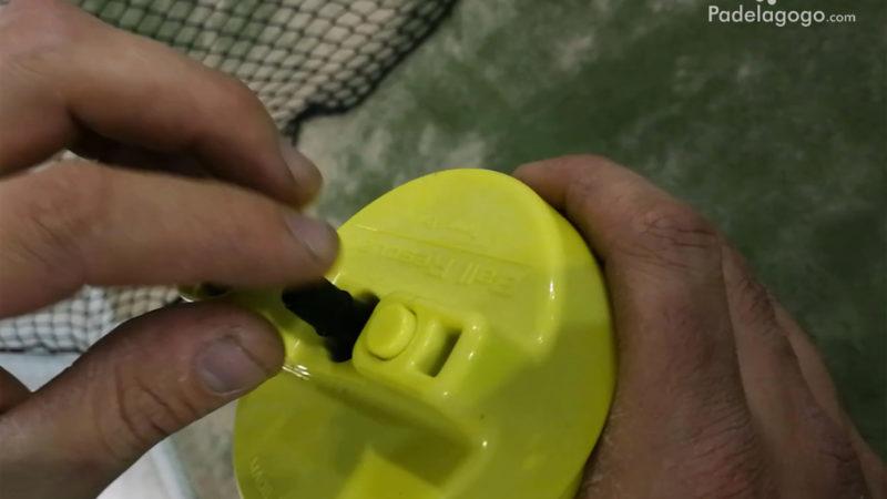 mejor Presurizador de pelotas de padel. Ball rescuer