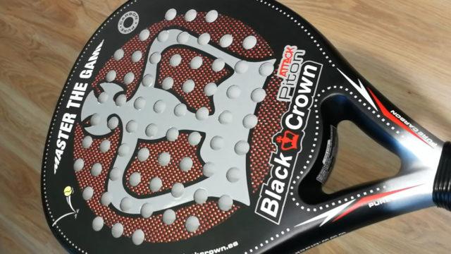Prueba Piton Attack 3k 2019. Nueva pala de padel de Black Crown